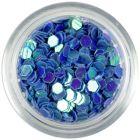 Paiete cu reflexii, 3mm - hexagoane albastre