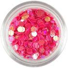 Confetti decorativ - 3mm, hexagoane roşu coral