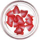 Decorațiuni fimo pentru unghii - căpșună feliată