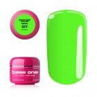 Gel UV Base One Neon - Green 07, 5g