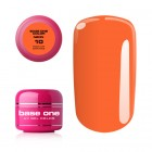 Gel UV Base One Neon - Medium Orange 10, 5g
