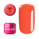 Gel UV Base One Neon - Dark Orange 11, 5g