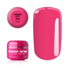 Gel UV Base One Neon - Medium Pink 14, 5g