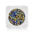 Decorațiuni nail art - cercuri în culori metalizate - mix culori, nr. 1