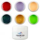 Element 1 - 6 buc. - geluri colorate