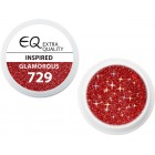 Extra Quality GLAMOURUS gel UV color - INSPIRED 729, 5g