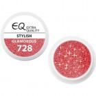 Extra Quality GLAMOURUS gel UV color - STYLISH 728, 5g