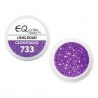 Extra Quality GLAMOURUS gel UV color - LONG ROAD 733, 5g