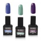 Inginails Professional – Dry gel polish set, 3pcs