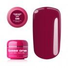 Gel Base One Color RED - Bubblegum Pink 06, 5g