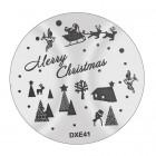Șablon ștampilare DXE41 - Christmas