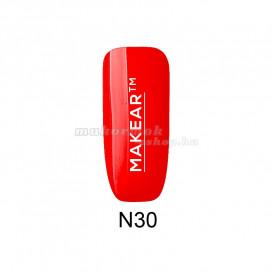 Gel colorat pentru unghii – Neon rose red – N30, 8ml