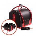 Carcasă pliabilă cosmetică - BLACK / RED