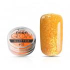 Pudră decorativă pentru unghii, Neon Glow Glitter, 03 – Orange, 3g