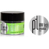 Platinum UV-tech - Sparkle Clear, 50g