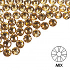 Pietre decorative pentru unghii - MIX - aur, 50buc