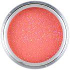 Pudră acril colorată 7g - roşie cu sclipici