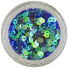 Paiete rotunde în formă de disc - albastre