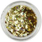 Paiete aurii pentru tipsuri acvariu - diamante, hologramă