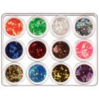 Kit Nail art- diamante 12x5 g