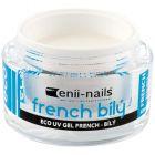 Gel UV - alb manichiură French, 40ml