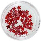 Flori roșii sidefate