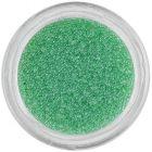 Decorații Nail art - perle verde deschis 0,5mm