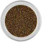 Decorații pentru unghii - perle 0,5mm, verde ca iarba