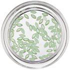 Ovale decorative cu efect perlat - verde deschis