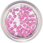 Pătrate perlate decorative - roz